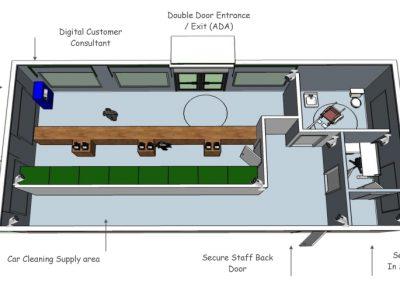 Office PODS | Floor Plan
