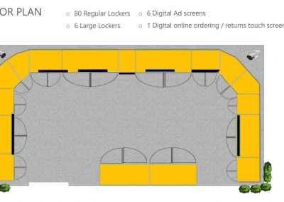 24/7 Pickup PODS | Floor Plan