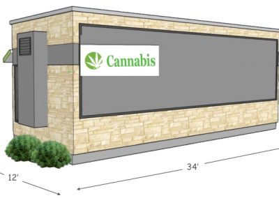 "PODS Cannabis Design ""A""   Back View"