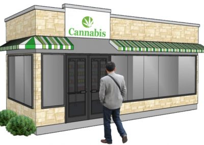"""PODS Cannabis Design """"A""""   Front View"""